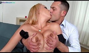 Stunning Electra Wild wants her partner&rsquo_s cock goes in and out of her asshole