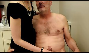 Ulf Larsen caught wanking &amp_ punished!