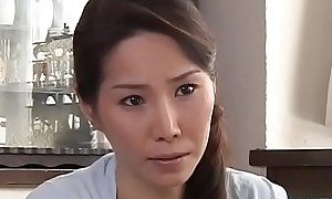 Captivating oriental mature gets her billibongs and pussy played with