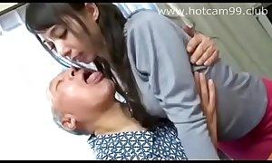 Horny Girl and Horny Grandpa