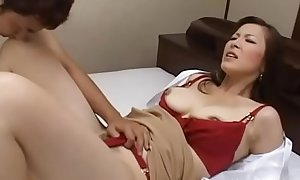 Big older momma kisses passionately with her sexy lover