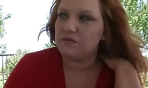 Playful fat angel seduces pretty dude to bang her very well