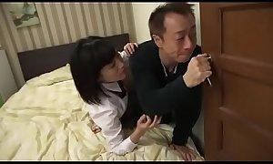 Japanese dad daughter taboo - xIncestPorn.com