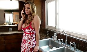 Mommy tanya tate and katerina kay licking every other out