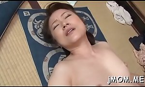 Sexy bdsm action with mature babe giving head and using toys