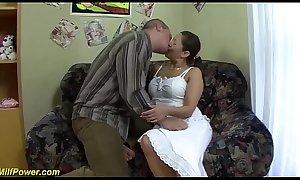chubby big boob moms first rough anal sex