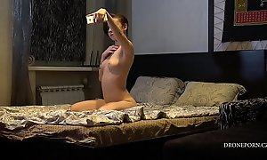 Czech girl Anna nude selfie - Hidden camera