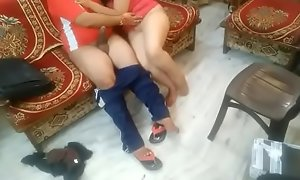 Desi cute teen nice fucking by boss in Boss home part 3