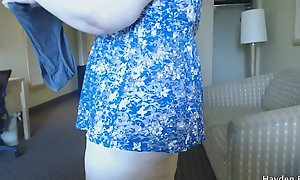 Showing Off My Big Ass In Panties And Thongs (Fat Ass Tease And Booty Shaking)