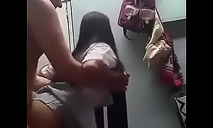 Father cums inside his schoolgirl daughter Novinha